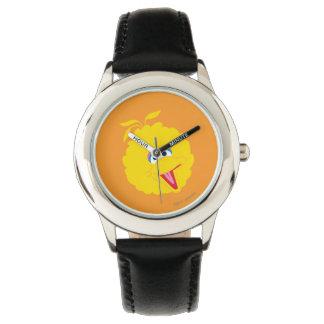 Großes Vogel-Gesicht Armbanduhr