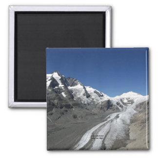 Grossglockner, österreichische Alpen Quadratischer Magnet