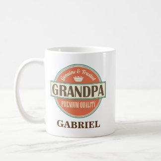 Großvater-personalisiertes Büro-Tassen-Geschenk Tasse