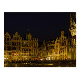 Grote Markt, Brüssel, Belgien Postkarte