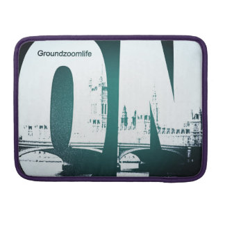 Groundzoomlife AUF Macbuch-Prohülse MacBook Pro Sleeve
