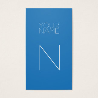 Groupon Mode-Blendungs-Blau Visitenkarte
