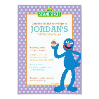 Grover-Geburtstag Karte