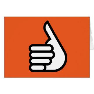 Grtz.net: Hände oben, Super! Grußkarte