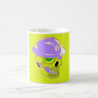 Gruben-Wärter Yellow Pop Art Mug Tasse