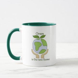 Grün ist die neue Thema-Tasse Tasse