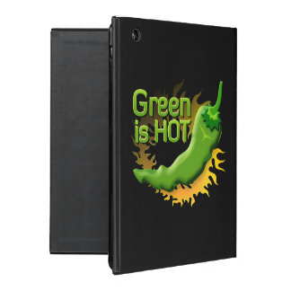 Grün ist HEISS iPad Hüllen