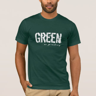 Grün, kein Klemmen T-Shirt