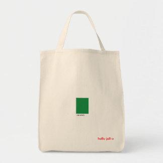 Grün macht mich glücklich einkaufstasche