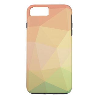Grün und Rosa verblaßten polygonal iPhone 8 Plus/7 Plus Hülle