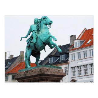 Gründer von Kopenhagen Absalon - Højbro Plads Postkarte