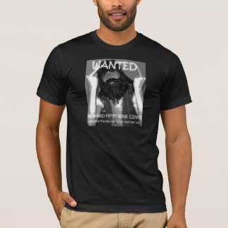 Grundlegende dunkle T - Shirt-Klemme wollte Plakat T-Shirt