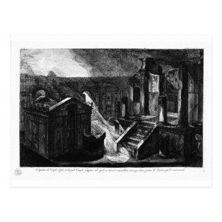 Grundsteine des gleichen Zugangs Giovanni Battista Postkarte