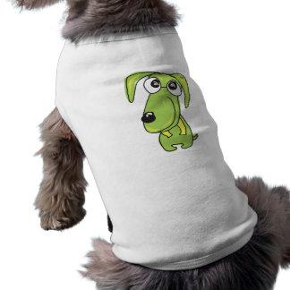 Grüne Beagle-Haustier-Kleidung Shirt