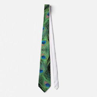 Grüne Federn mit schwarzer Individuelle Krawatte