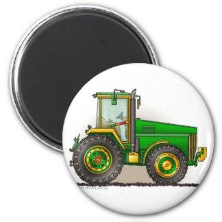 Grüne große Traktor-Magneten Runder Magnet 5,7 Cm