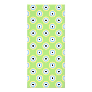 Grüne Kombinations-Kreise durch Shirley Taylor Werbekarte