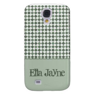 Grüne Raute Galaxy S4 Hülle