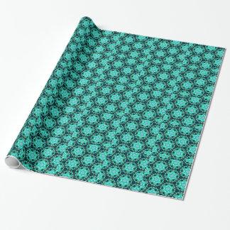 Grüne Tilly-Spitze Geschenkpapier