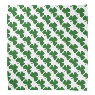 Grünen Klee-Muster-St Patrick TagesBandana Halstuch