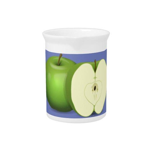 Grüner Apfel Krug