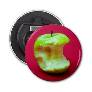Grüner Apfel nagte ab Flaschenöffner