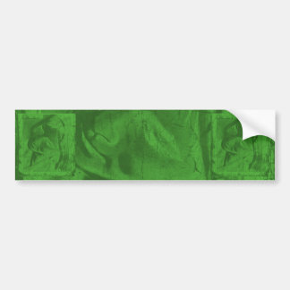 Grüner Autoaufkleber der Reflexions-I