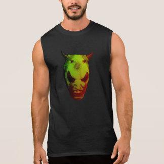 Grüner Dämon Ärmelloses Shirt