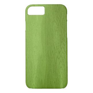 Grüner hölzerner Entwurf iPhone 7 Kasten iPhone 7 Hülle