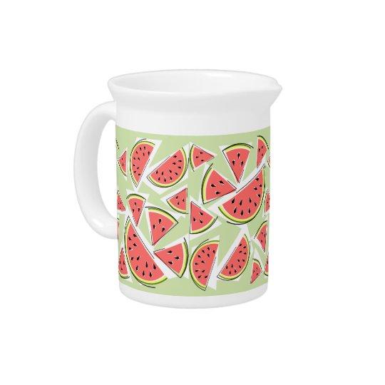 Grüner multi Krug der Wassermelone