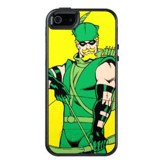 Grüner Pfeil stehend mit Bogen OtterBox iPhone 5/5s/SE Hülle
