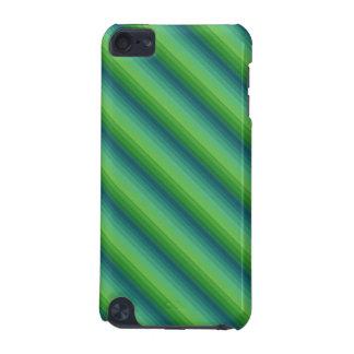 Grüner Streifen-Kasten iPod Touch 5G Hülle
