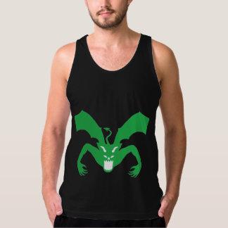 Grüner Teufel Tank Top