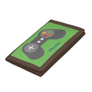 Grüner Videospiel-Prüfer