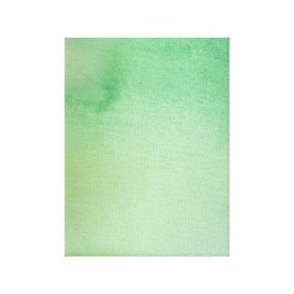 Grüner Wasserfarbe-Marmor Leinwanddruck
