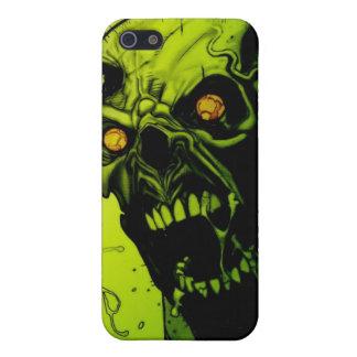 Grüner Zombie-Horror-Speck-Kasten iPhone 5 Case