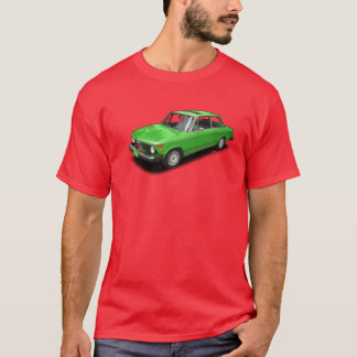 Grünes bayerisches Automobilauto auf rotem T - T-Shirt
