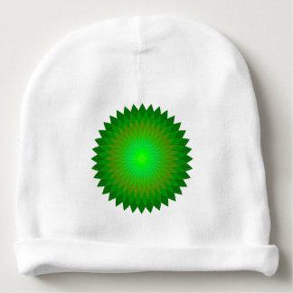 Grünes geo'. babymütze