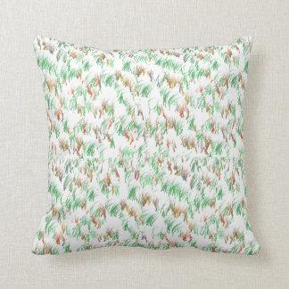 Grünes Gras-Entwurfs-Kissen Kissen
