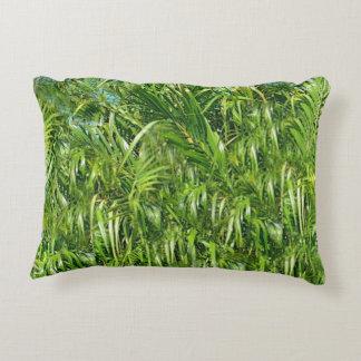 Grünes Gras-Kissen Dekokissen