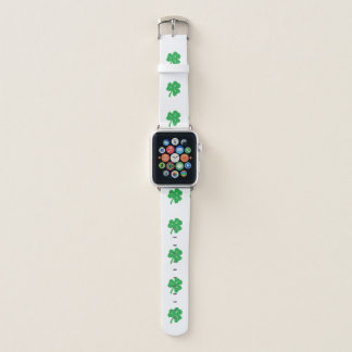 Grünes Klee-Blatt-Apple-Uhrenarmband Apple Watch Armband