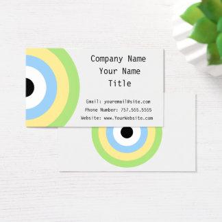 Grünes Kombinations-Bullauge durch Shirley Taylor Visitenkarte
