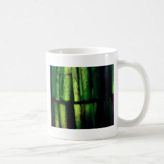 Grünes Makro Kaffeetasse