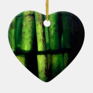 Grünes Makro Keramik Ornament