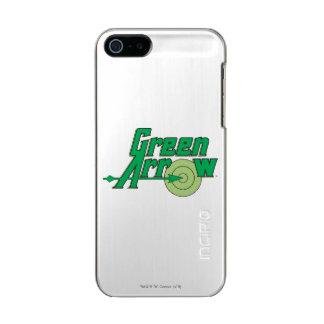 Grünes Pfeil-Logo Incipio Feather® Shine iPhone 5 Hülle