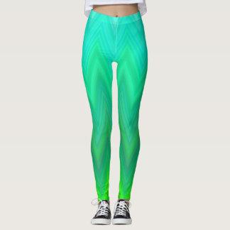 Grünes Riff Leggings