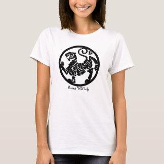 Grünes Shirt der Tierschutze