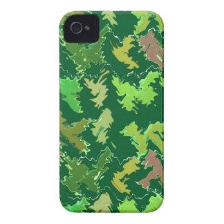 Grünes Thema: Militär tarnt Wellen-Muster iPhone 4 Hülle