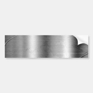 Grunge-Metallblick-Autoaufkleber Autoaufkleber