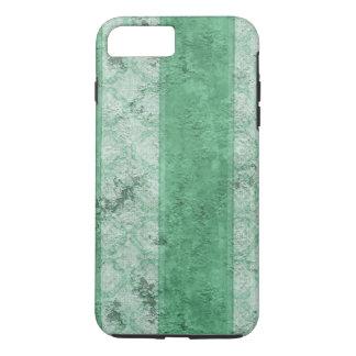Grungy fette grüne Streifen iPhone 8 Plus/7 Plus Hülle